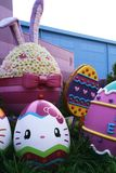 Photo of easter Universal Wonderland,Universal Studios JAPAN. OSAKA, JAPAN - March 11, 2014 : Photo of easter Universal Wonderland located in Universal Studios stock images