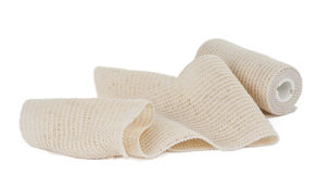 Photo of the elastic bandage Stock Photo
