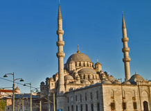 Photo of Eminönü Mosque in  Istanbul. Photo of Eminönü Mosque in  Istanbul,Turkey Royalty Free Stock Images