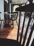 Photo of Empty Cafe Stock Image