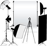 Photo of an empty photographic Royalty Free Stock Image
