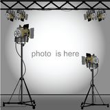 Photo of an empty photographic Royalty Free Stock Photo