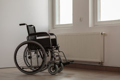 Photo of empty wheelchair Stock Photography