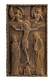 Photo en bronze d'icône Image stock