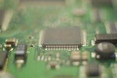 Photo en gros plan de mainboard de disque d'unité de disque dur photos libres de droits