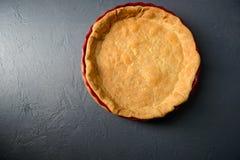 Photo en gros plan de pâte au goût âpre cuite au four Images stock