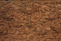 Photo engraving on the wood. Stock Images