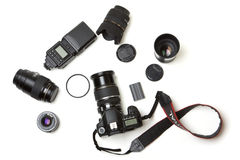 Photo equipment Royalty Free Stock Photo