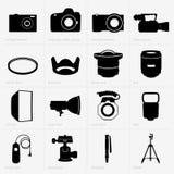 Photo equipment Royalty Free Stock Photos