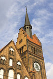Photo of the of the Evangelical Christ' Church in Ostrava CZ Stock Photos