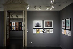 Photo exhibit Jean-Paul Goude Stock Photo
