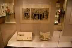 British Museum exhibitions_Japan art Royalty Free Stock Image