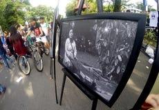 Photo exhibition Stock Photos