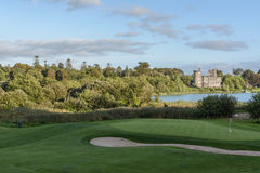 Photo famous 5 star dromoland castle hotel and golf club Royalty Free Stock Photography