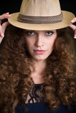Photo of fashion beautiful girl Stock Photography