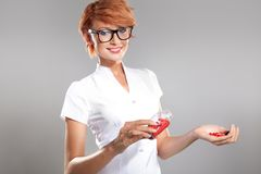 Photo of female doctor Stock Photo
