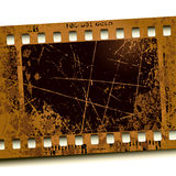 Photo film. Abstract yellow photo film, this illustration may be usefull as designer work Royalty Free Stock Image