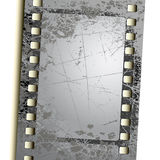 Photo film. Abstract grey photo film, this illustration may be usefull as designer work Royalty Free Stock Photos