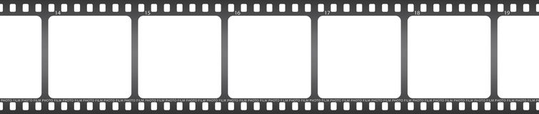 Photo film. Vector illustration of isolated film Royalty Free Stock Photos