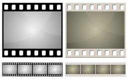 Photo film frame Royalty Free Stock Photo