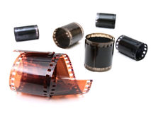 Photo films Royalty Free Stock Images