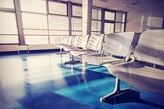 Photo filtrée par vintage de salle d'attente Photo libre de droits