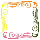 Photo floral frame Royalty Free Stock Photo