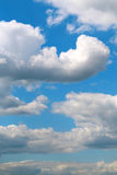 Photo of fluffy clouds Stock Photography