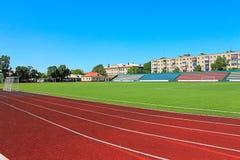 Photo football stadium Stock Photography