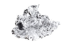 Photo of fractured foil Royalty Free Stock Images