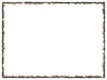 Photo frame. With burned edges Royalty Free Stock Photography
