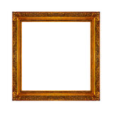 Photo frame. Frame ready to be used in a photo design Stock Photography