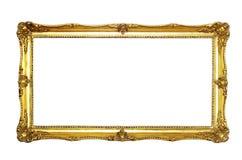 Photo frame. Isolated on white background Royalty Free Stock Images