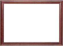 Photo frame. Isolated on white background with clipping path Stock Image