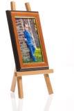 Photo frame 3. Photo frame isolated on white background Royalty Free Stock Photography