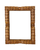 Photo Frame. A ornate photo frame isolated over white Royalty Free Stock Image