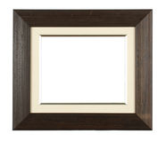 Photo frame. Antique wooden photo frame with space for your text or photo Stock Image