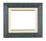 Photo frame. Antique wooden photo frame with space for your text or photo Stock Photography
