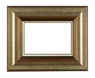 Photo frame. Antique wooden photo frame with space for your text or photo Stock Photos