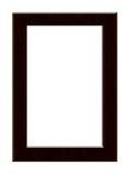 Photo frame. A wooden photo frame. Art illustration Stock Photography
