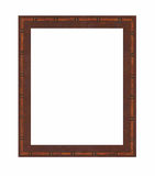 Photo Frame. Italian Marquetry Wooden Photo Frame royalty free stock photography