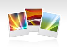 Photo frame abstract Stock Images