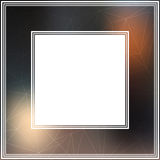 Photo frame-01. Frame with abstract colorful mesh background. Border for photo or images stock illustration