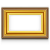 Photo frame stock photos