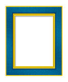 Photo Frame Border. High res Designer photo frame Stock Image