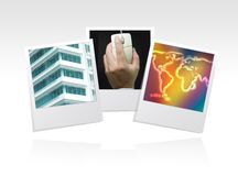 Photo frame business Royalty Free Stock Photos