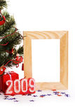 Photo frame for card Royalty Free Stock Photography