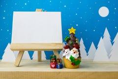 Photo frame and Children toys Stock Photos
