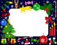 Photo Frame - Christmas [3] Royalty Free Stock Image