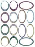 Photo frame colorful Stock Photos